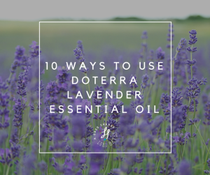 10 ways to use doTERRA lavender essential oil