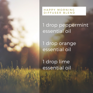 DIY Happy Morning Diffuser Blend