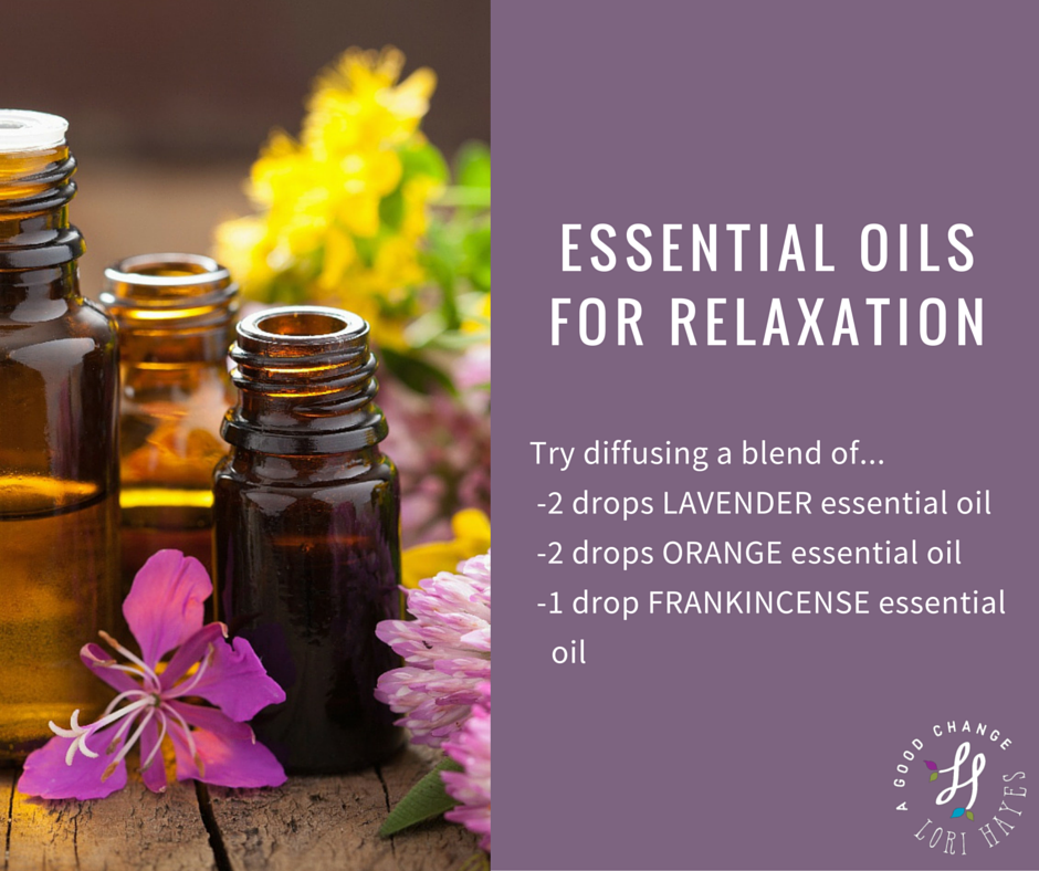 relaxation oils