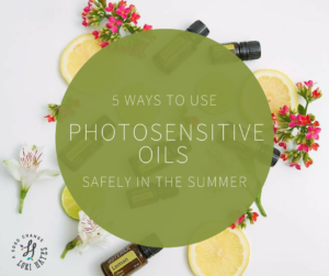 5 ways to use photosensitive oils safely in the summer