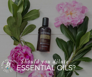 Should you dilute essential oils?